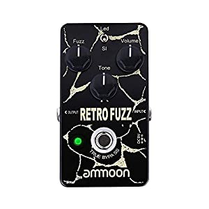 ammoon AP-13 American Sound Amp Simulator Chitarra Pedale Effetto True Bypass – FUZZ Analogico