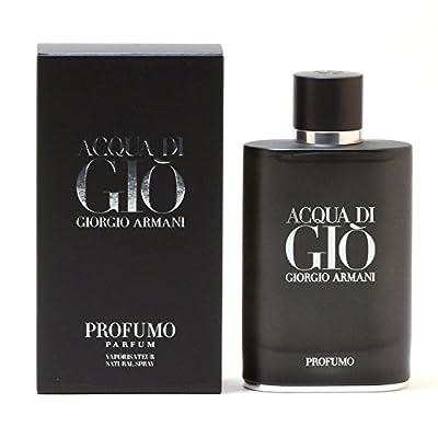 Giorgio Armani Acqua Di Gio Profumo For Men 2 Pieces Hard Box Set (2.5 Eau De Parfum / 0.67 Eau De Parfum Travel spray)