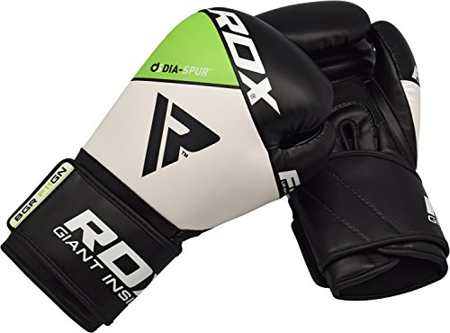 RDX Maya Hide Leather Boxing Gloves Punch Bag Mitts Sparring Punching Training Kickboxing Muay Thai Martial Arts