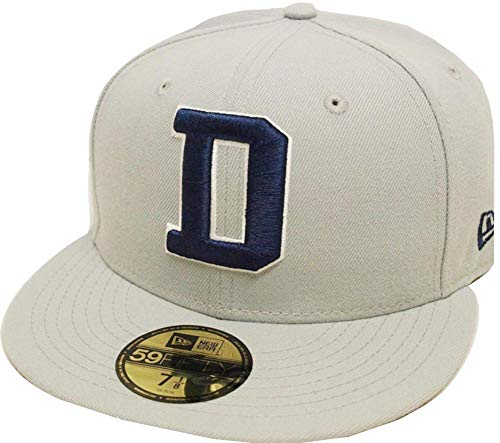 New Era Dallas Cowboys Solid Grey On Field NFL Cap 59fifty 5950 Fitted Limited Edition