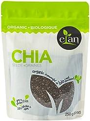 ELAN Organic Chia Seeds 250 Gram