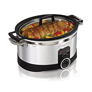 Hamilton Beach 6-Quart Programmable Searing Slow Cooker, Very happy with the results