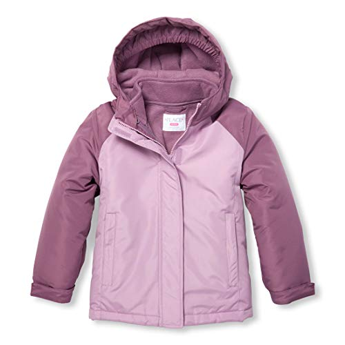 - The Children's Place Big Girls' 3 in 1 Winter Jacket, Dewberry, XXL(16)