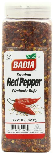 Badia Spices inc Spice, Crush Red Pepper, 12-Ounce ()