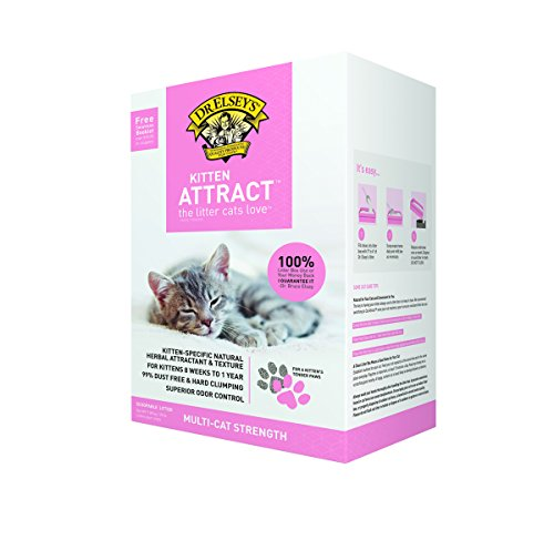 Dr Elsey Cat Attract Cat Litter - Dr. Elsey's Precious Cat Kitten Attract Kitten Training Litter