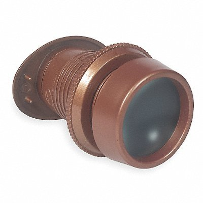 GRAINGER APPROVED Door Viewer Bronze 160 Deg Viewing Angle