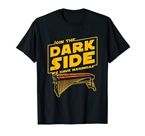 - Join The Dark Side Marimba Player T-shirt