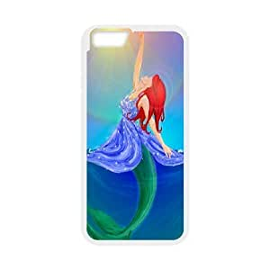 Yo-Lin case IKAI0447427The Little Mermaid For Apple Iphone 6 Plus 5.5 inch screen Cases