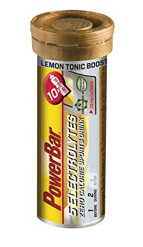 Bebida Isotónica 5Electrolytes 12 Tabs PowerBar (120 tabletas) Limón y Cafeína
