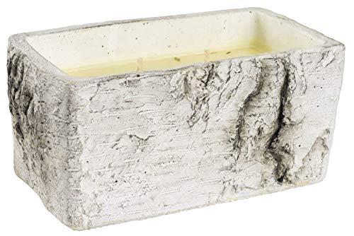 Overstock White Woods Rectangle Candle Spiced Orange & Cinnamon