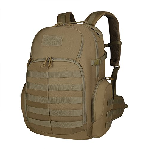 Galleon - Mardingtop 35L Tactical Backpacks Molle Hiking Daypacks For  Camping Hiking Military Traveling M6232-Khaki c16d2d2850311