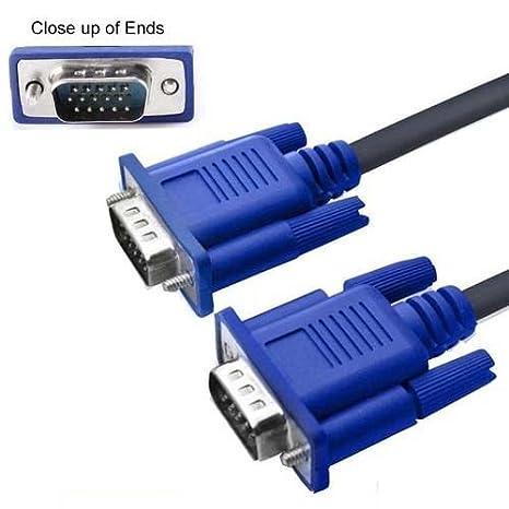 FYL 5 FT VGA/SVGA Cable para proyector Epson PowerLite 400 4100 ...