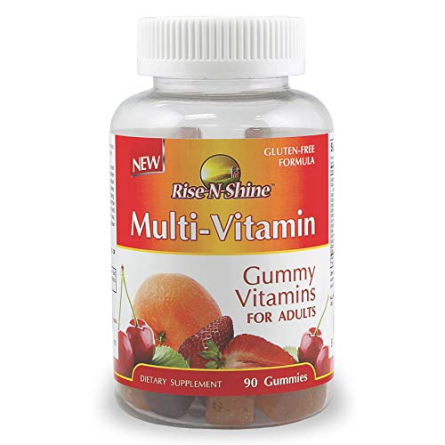 Adult Multivitamin Gummies with Vitamin A, Vitamin C, Vitamin D, Vitamin E, Vitamin B6, Vitamin B12, Folic Acid, Biotin, Zinc and More 90 Count
