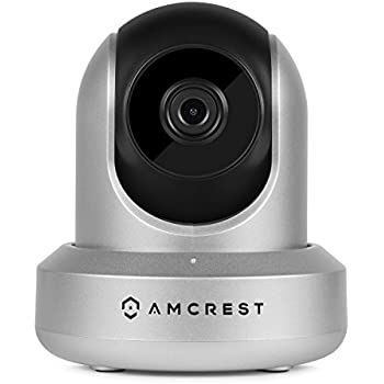 Amcrest ProHD 1080P WiFi Wireless IP Security Camera - 1080P (1920TVL), IP2M-841 (Silver)
