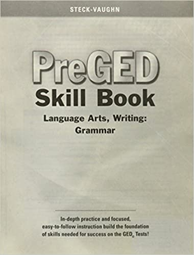 Student Edition Language Arts Pre-GED Writing