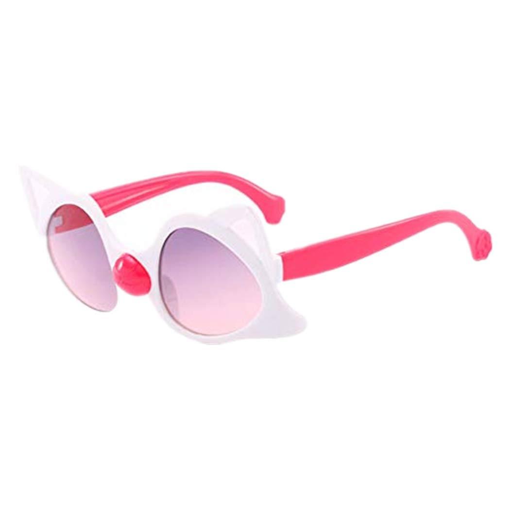 Womens Sunglasses Lollyeca Children Vintage Eye Sunglasses Fashion Radiation Protection