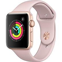 Apple Watch Series 3 (GPS) 42mm Smartwatch (Gold Aluminum Case, Pink Sand Sport Band)