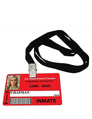 Piper Chapman OITNB Novelty ID Badge Prop (Chapman Piper)