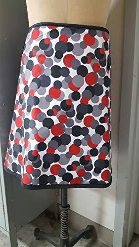 Vest Guard & Skirt Guard Combo, Regular Lead, X-Ray Apron, 0.5mm Pb Lead Equivalency, Medium, Lots O Dots by Techno-Aide Inc (Image #2)