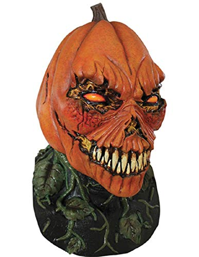 Possessed Man Halloween Costume (Creepy Possessed Pumpkin Costume Mask for Halloween)