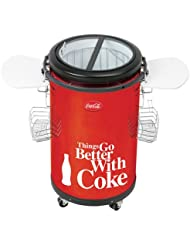 Koolatron CCPC-50 Coca-Cola 50-Liter Party Fridge