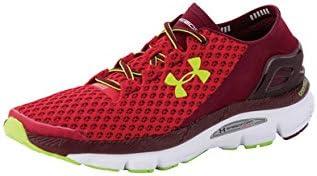 Under Armour UA Speedform Gemini - zapatillas de running de material sintético hombre, color rojo, talla 425: Amazon.es: Zapatos y complementos