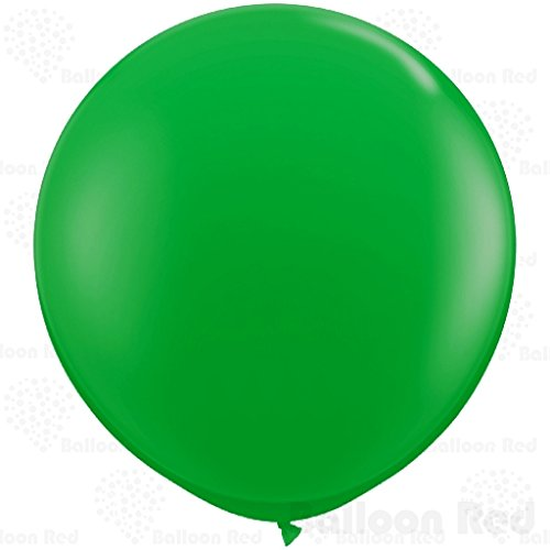 [27 Inch Giant Jumbo Latex Balloons (Premium Helium Quality), Pack of 12, Green] (Homemade Cupcake Costumes For Adults)