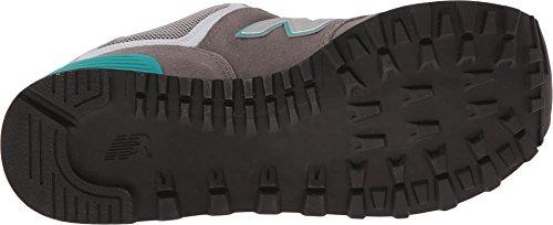 New Balance WL574 B - Zapatillas para mujer Gris/ verde azulado