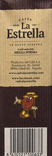 La Estrella Cafe Molido De Tueste Naturaly Torrefacto Paquete De 8 X De 250 G Total 2 Kg