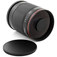 500mm f/8 Super Telephoto Mirror Lens for Olympus Micro 4/3 PEN Cameras E P3 PL3 PM1 PL1 P2 P1 PL2 PL1s