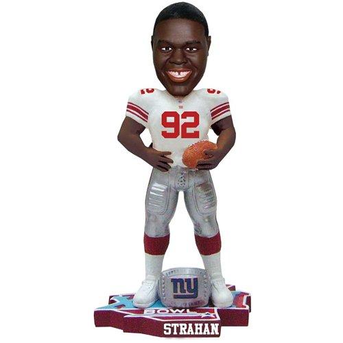 Michael Strahan New York Giants スーパーボウルチャンプ ボブルヘッド