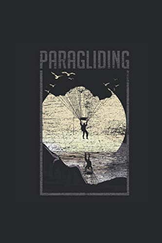 Paragliding Moon: Paragliding Notebook, Dotted Bullet (6