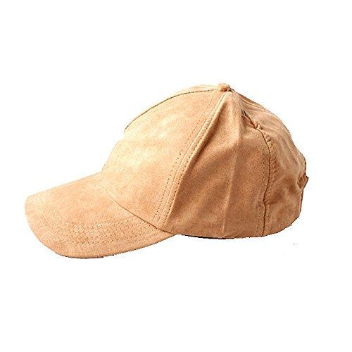 pelle donna Cappello in Accessoryo beige scamosciata da qIvBwSgSx