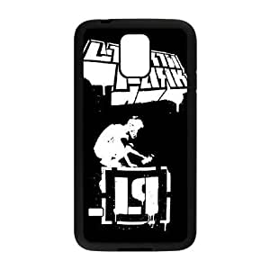 Samsung Galaxy S5 Cell Phone Case Black Linkin Park0 Protective Custom Phone Case Cover CZOIEQWMXN25609