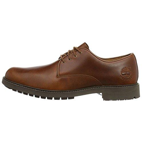 Timberland Earthkeepers Stormbuck Plain Toe Mens Oxford UK11 EU45.5 US11.5 Tan Full Grain Medium Brown - Timberland Shoes Men Earthkeepers