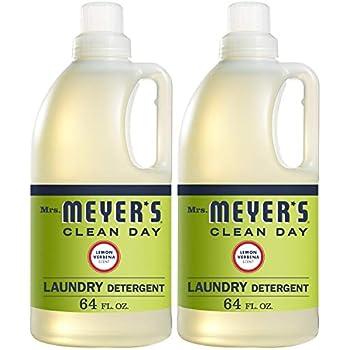Mrs. Meyer's Laundry Detergent, Lemon Verbena, 64 fl oz (2 ct)