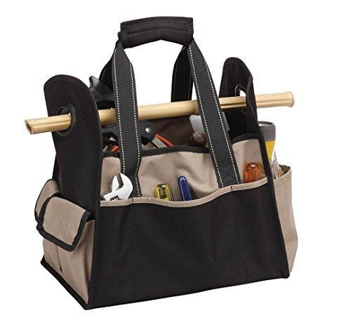 bellino-p7294-khaki-tool-tote-home-organize-dozens-of-different-tools