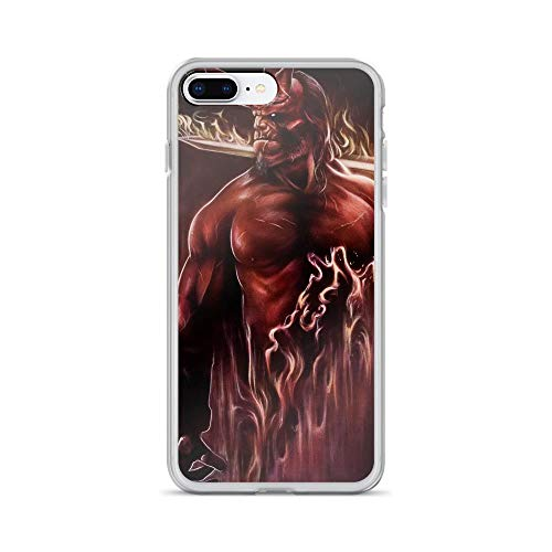 iPhone 7 Plus/8 Plus Anti-Scratch Shockproof Clear Phone Case Hellboy Newworks