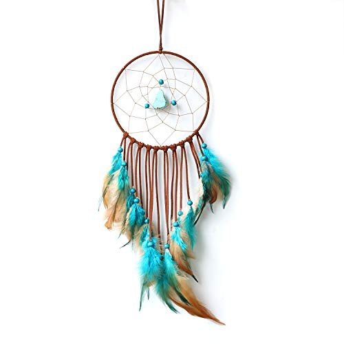 Dream Catcher ~ Handmade Traditional Boho style Feather Wall Hanging Home decoration gift 5.9