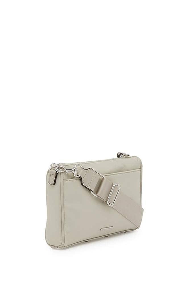 Rebecca Minkoff Solstice Mini 5 Zip Crossbody Bag Putty