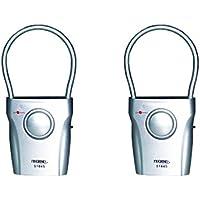 Techko S025 Ultra Slim Door Guard Alarms (2 pack)