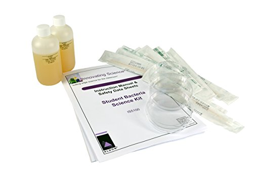 Student Bacteria Test Kit - 400mL of Agar and Supplies fo...