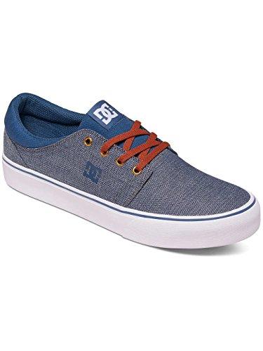 DC Shoes Trase Tx Se M, Zapatillas para Hombre azul y blanco