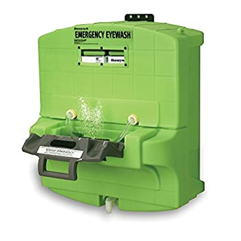 Image of Honeywell Fendall Pure Flow 1000 Eyewash Station, 7 Gallon Capacity, 15 minutes Wash Time, 29' L X 30' H X 17-1/4' D