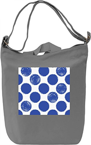 Bubbles Print Borsa Giornaliera Canvas Canvas Day Bag| 100% Premium Cotton Canvas| DTG Printing|