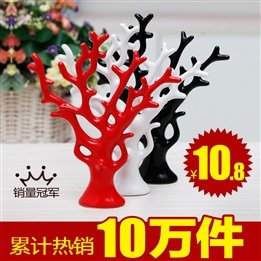 Pachira Lucky star explosion models modern decor new home furnishings wedding gift pottery tree