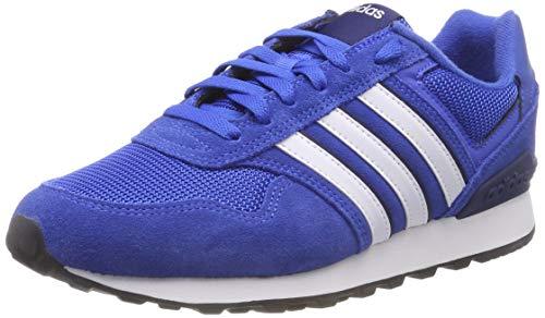 Herren adidas Dark Ftwr White Blue Blau Blue 10k Fitnessschuhe ZHvxw0drHq