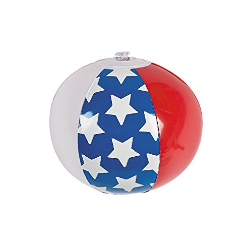 American Flag Beach Ball - 9