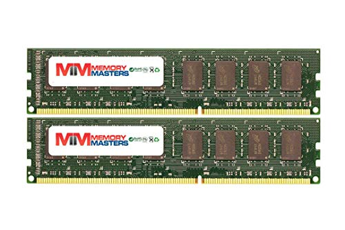 MemoryMasters 2GB (2x1GB) DDR-400MHz PC-3200 Non-ECC UDIMM 2Rx8 2.5V Unbuffered Memory for Desktop - Ddr Pc 400mhz 3200 Memory