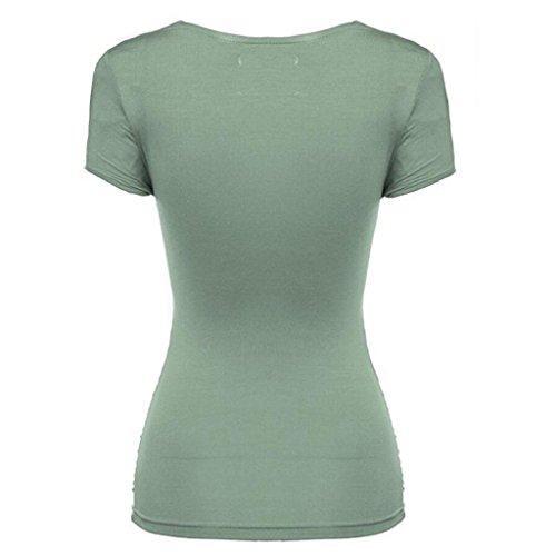 PRIAMS 7 - Camiseta - para mujer verde claro